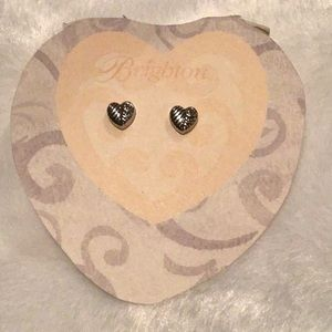 Brighton Jewelry - Brighton Heart Earrings w/tin